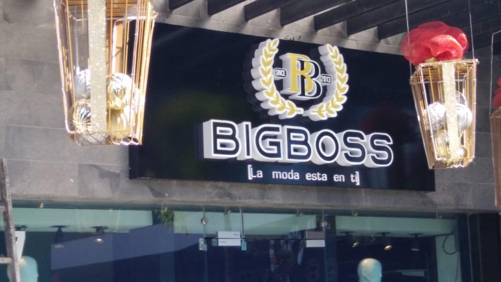 ACRILICO - BIGBOSS - VENTURA